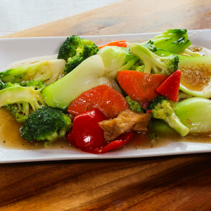 A24- Stir-Fried mixed Vegetables with Garlic