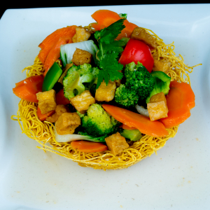 G03- Stir-fried Egg Noodle with Vegetables