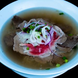 B04- Rare Beef & Brisket Rice Noodle Soup