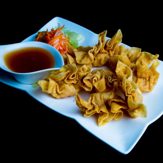 A13- Deep Fried Shrimp Wonton (8 dumplings)