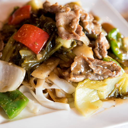 G15 - Stir-fried Rice Noodle with Beef & Preserved Vegetables