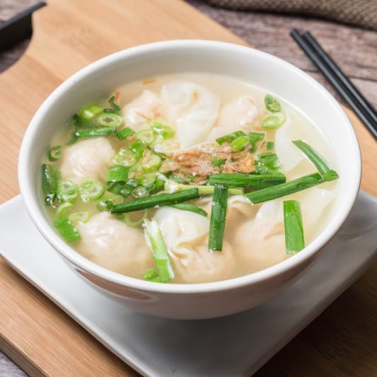 A16- Shrimp Wonton Soup (8 dumplings)