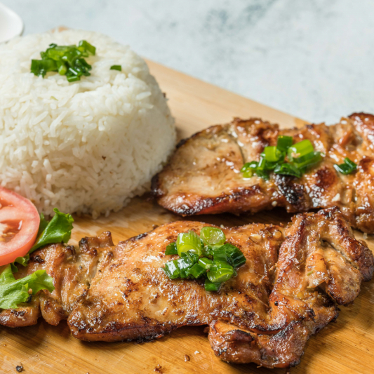 E07- Grilled Chicken with Rice