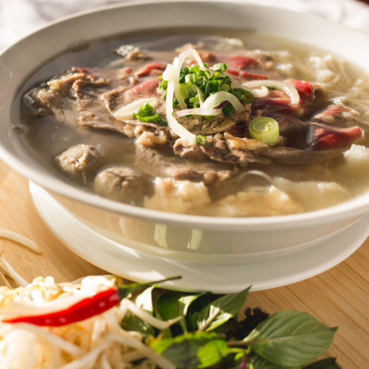 B01- Chef's Special Beef Rice Noodle Soup