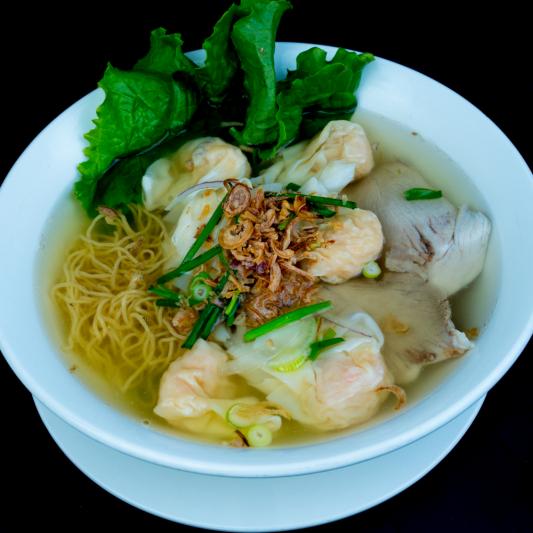 C02- Shrimp Wonton & Egg Noodle Soup