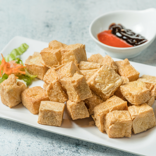 A23- Deep Fried Tofu