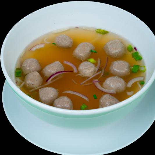 A17- Beef Balls Soup (10 pieces)