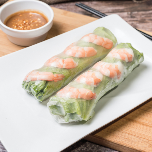A21- Shrimp Rolls (2 rolls)