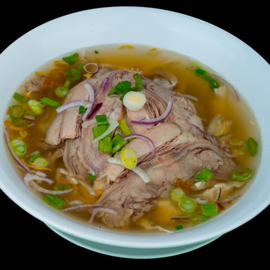 B08- Brisket Rice Noodle Soup