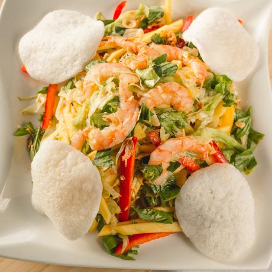 A07- Mango Salad with Shrimps
