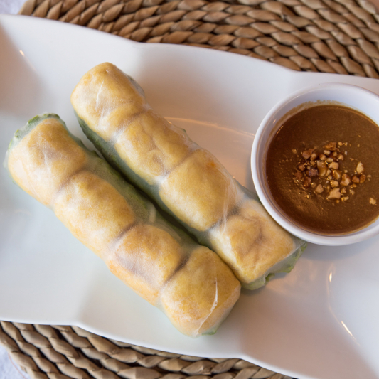 A20- Vegetable Fresh Rolls (2 rolls)