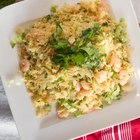 F01 - Shrimp Fried Rice