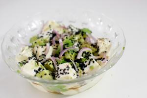 Tofu & Avocado Salad