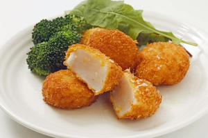 Deep Fried Scallop