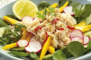 Mango Crab Salad