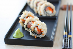 Cream Cheese Smoked Salmon Roll