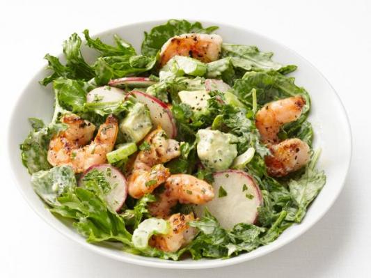 Shrimp & Avocado Salad