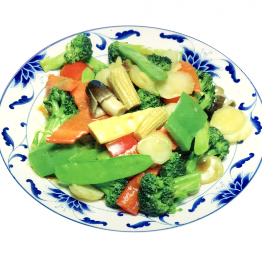 110. Sauteed Mixed Vegetables
