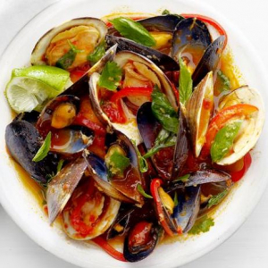 Thai Spicy Mussels