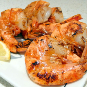 S3. Griddle Cooked Tiger Prawns