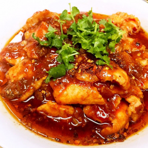 T1. House Special Boiled Fish Fillet in Chilli Broth