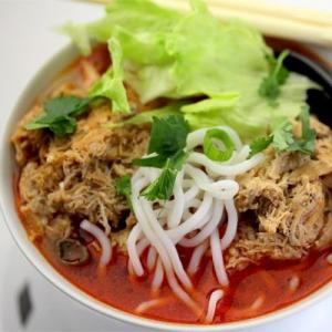 N3. Pork with Salted Veggie Noodle Soup