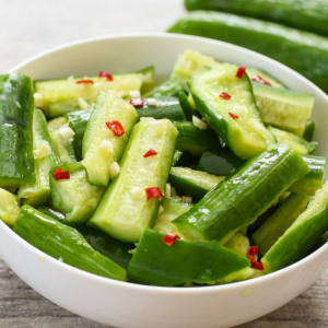 A5. Spicy Garlic Cucumber