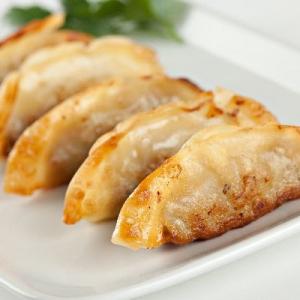 D18. Pan Fried Chicken Potstickers