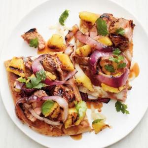 D8. Marbled Pork Flatbread