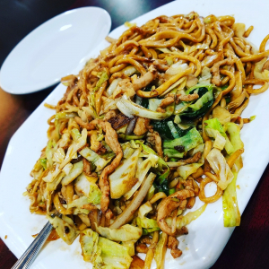 F13. Shanghai Style Chow Mein