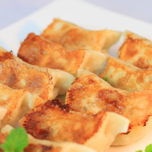 D19. Pan Fried Pork Potstickers