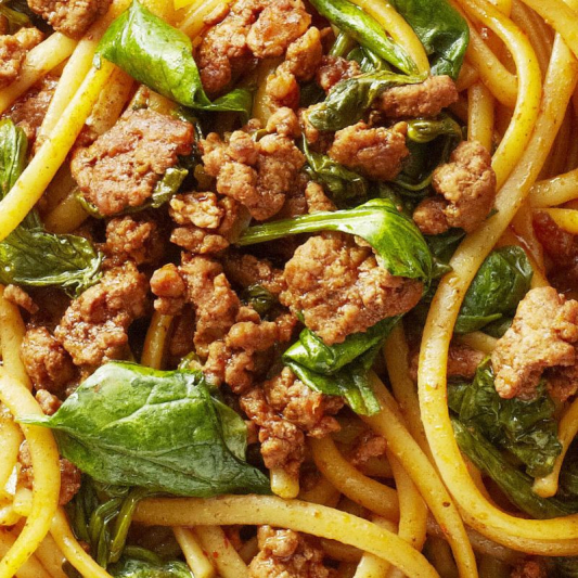 N11. Szechuan Minced Pork Noodles