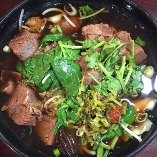 N2. Szechuan Beef Noodle Soup