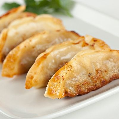 D18. Pan Fried Chicken Potstickers