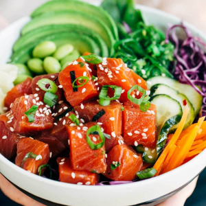 Spicy Salmon Bowl