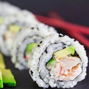Shrimp & Vegetable Tempura California Roll