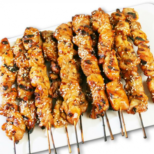 Chicken Yakitori Party Tray
