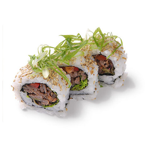 Beef Teriyaki California Roll