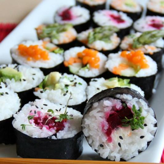 Vegetable Maki Set