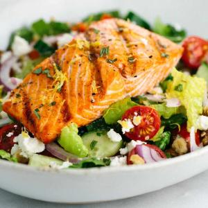 4 Salmon Fish Salad