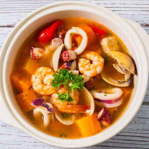 2 Seafood Soup