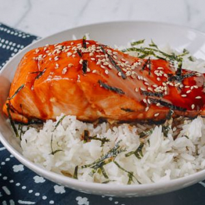 T4 Salmon Teriyaki