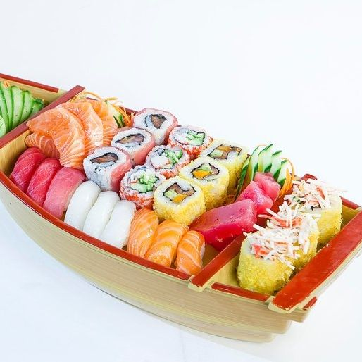 S17 Sushi Boat 34pcs Nikko Sushi Along with sister restaurants across san diego, rancho. s17 sushi boat 34pcs