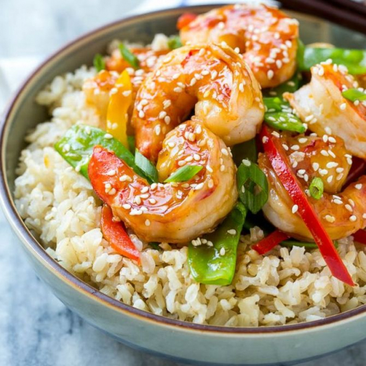 T5 Shrimp Teriyaki