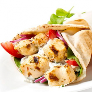 Chicken Souvlaki Pita Lunch Special