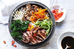 Shitake Mushroom Bibimbap