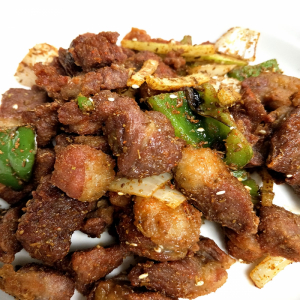 T6. Sauteed Diced Lamb with Cumin