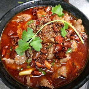 P7. Pork Kidney in Hot Chilli Broth
