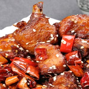 C4. Deep Fried Rabbit with Dried Chilli