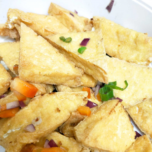V4. Spicy Salted Tofu